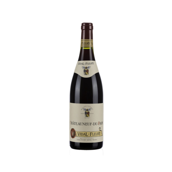 CHATEAUNEUF DU PAPE  RED V. FLEURY