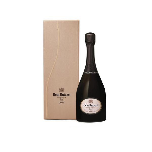 DOM RUINART ROSE 2004 IN LUXURY GIFT BOX