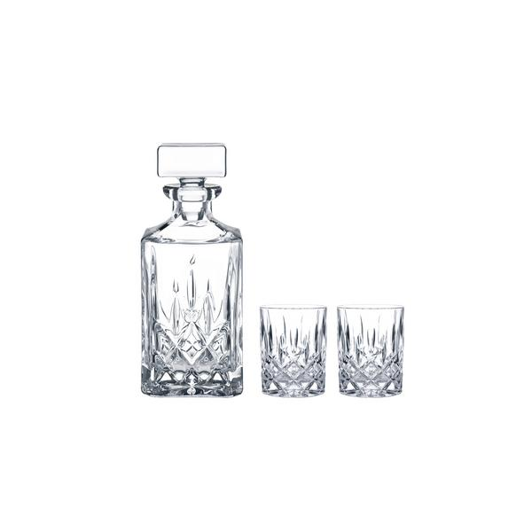 RIEDEL WHISKY SET NOBLESSE 1 CARAFE + 2 GLASSES (91899)