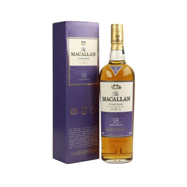 MACALLAN FINE OAK 18 YEARS OLD