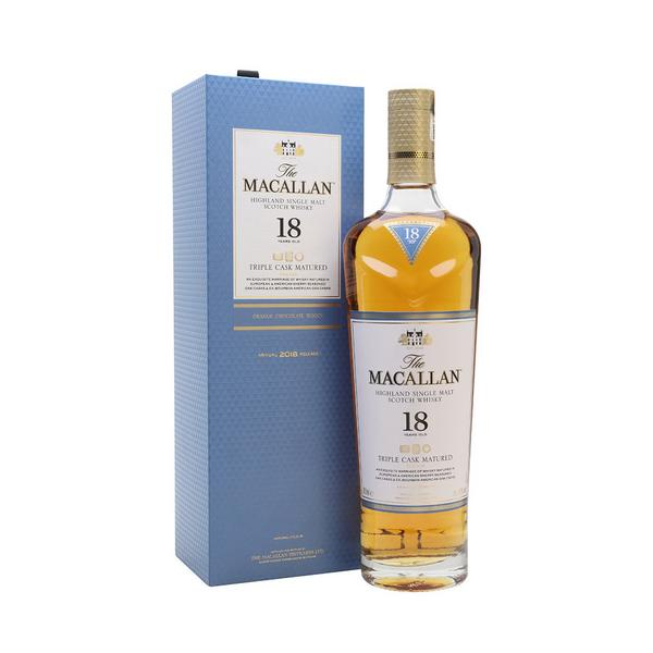 MACALLAN FINE OAK 18 YEARS OLD TRIPLE CASK