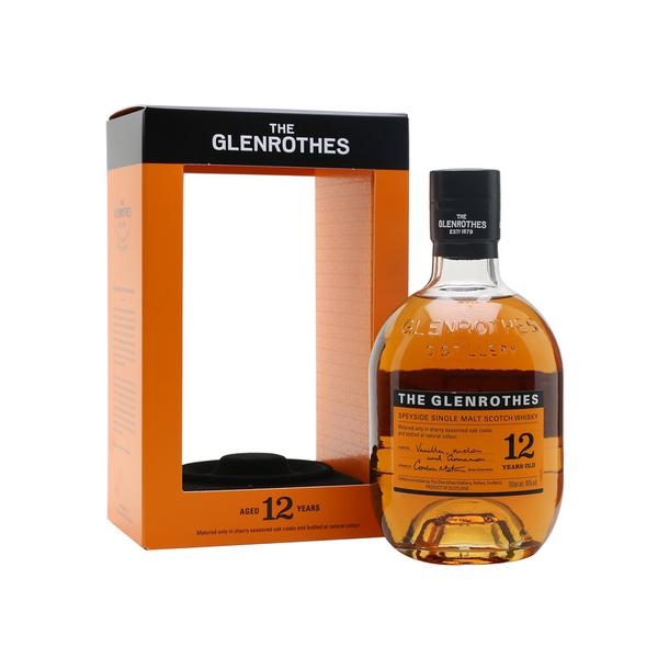 GLENROTHES WHISKY 12 YEARS OLD 70CL