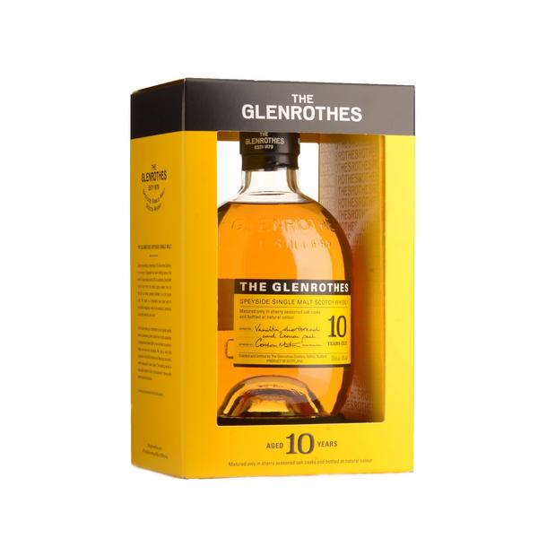 GLENROTHES WHISKY 10 YEARS OLD 70CL