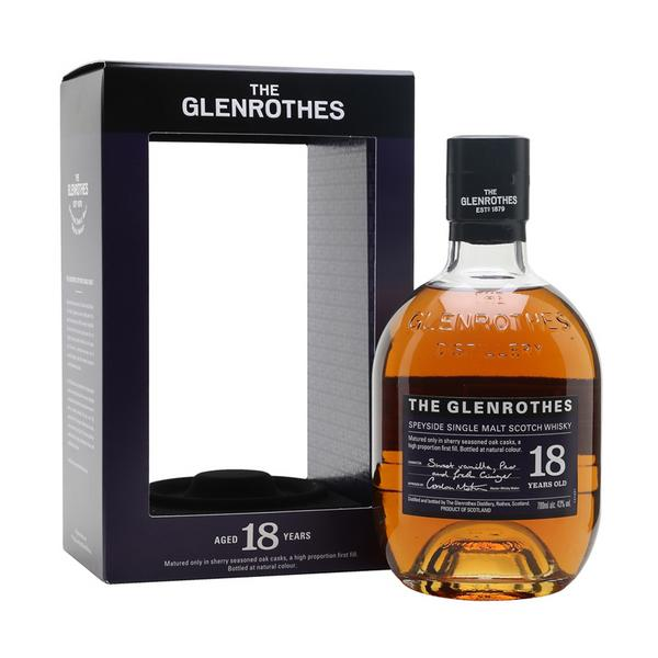 GLENROTHES WHISKY 18 YEARS OLD 70CL