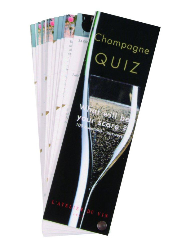 QUIZ DU CHAMPAGNE-VERSION ANGLAISE (81036)