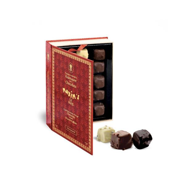 MAX 9102 - GIFT-BOX 15 ASSORTED CHOCOLATE COVERED MARSHMALLOWS