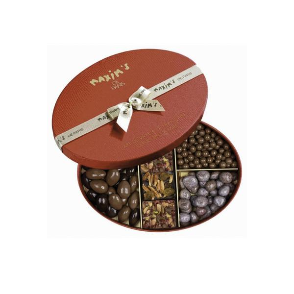 MAX 9133/9193 - GIFT-BOX OF ASSORTED CHRISTMAS CHOCOLATES & NUTS