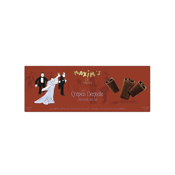 MAX 2189 - 18 MILK CHOCOLATE LACE CREPES