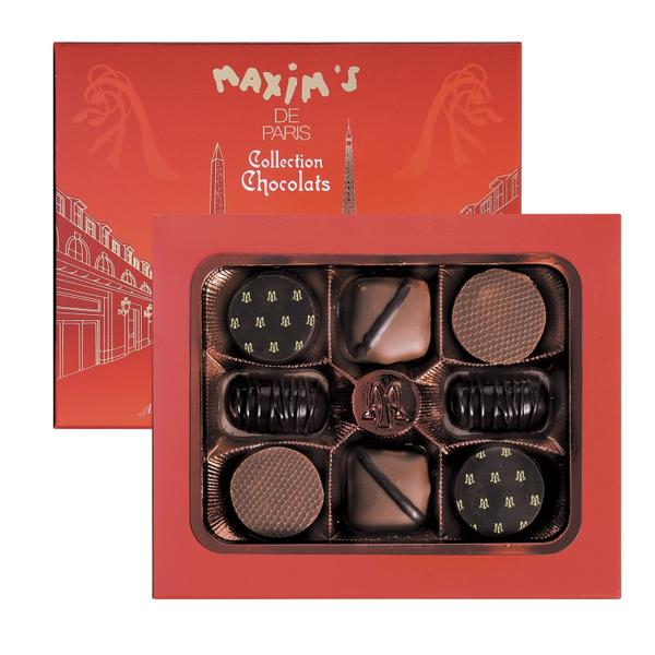 MAX 4305 - CARDBOX 8 ASSORTED CHOCOLATES