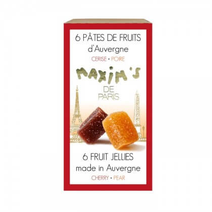 MAX 8075 - MINI ETUI 6 PATES DE FRUITS